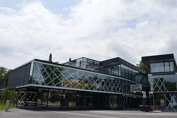 Construction du siège de la FIBA